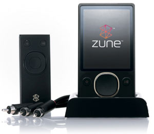 Microsoft Zune MP3 Player